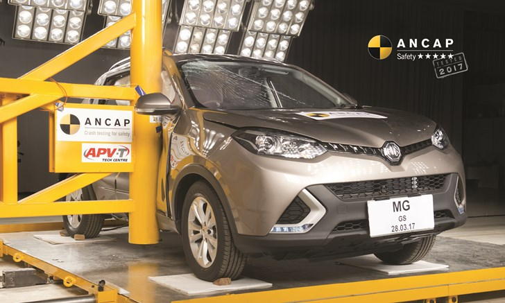 MG GS Becomes ANCAP's First Chinese 5-Star Vehicle