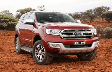 Ford Everest Titanium Gets Off-Road Wheel/Tyre Option