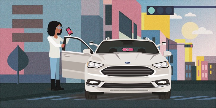 Ford, Lyft Team Up To Bring Self-Driving Cars Into Mainstream