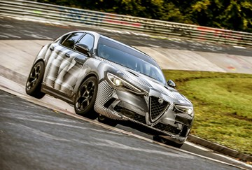 Alfa Romeo Stelvio QV Takes Nurburgring SUV Lap Record