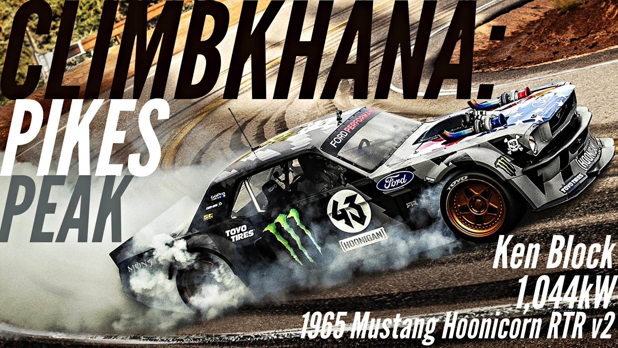 Climbkhana Is Here, A 1,044kW Sideways Thrill Ride To The Skies
