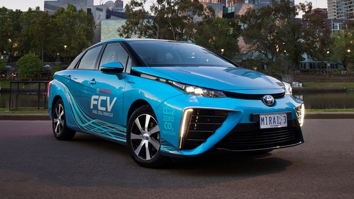 2016 Toyota Mirai Fuel Cell Vehicle - Australia