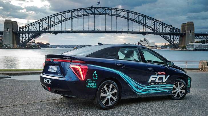 2016 Toyota Mirai Fuel Cell Vehicle - Australia