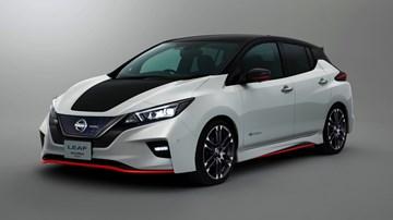 2017 Nissan Leaf Concept Nismo - Tokyo Motor Show