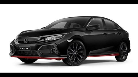 2018 Honda Civic 'Red Edition'