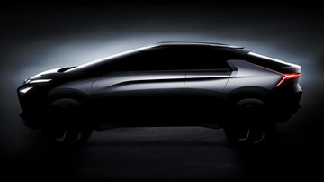2017 Mitsubishi e-Evolution Concept - Tokyo Motor Show