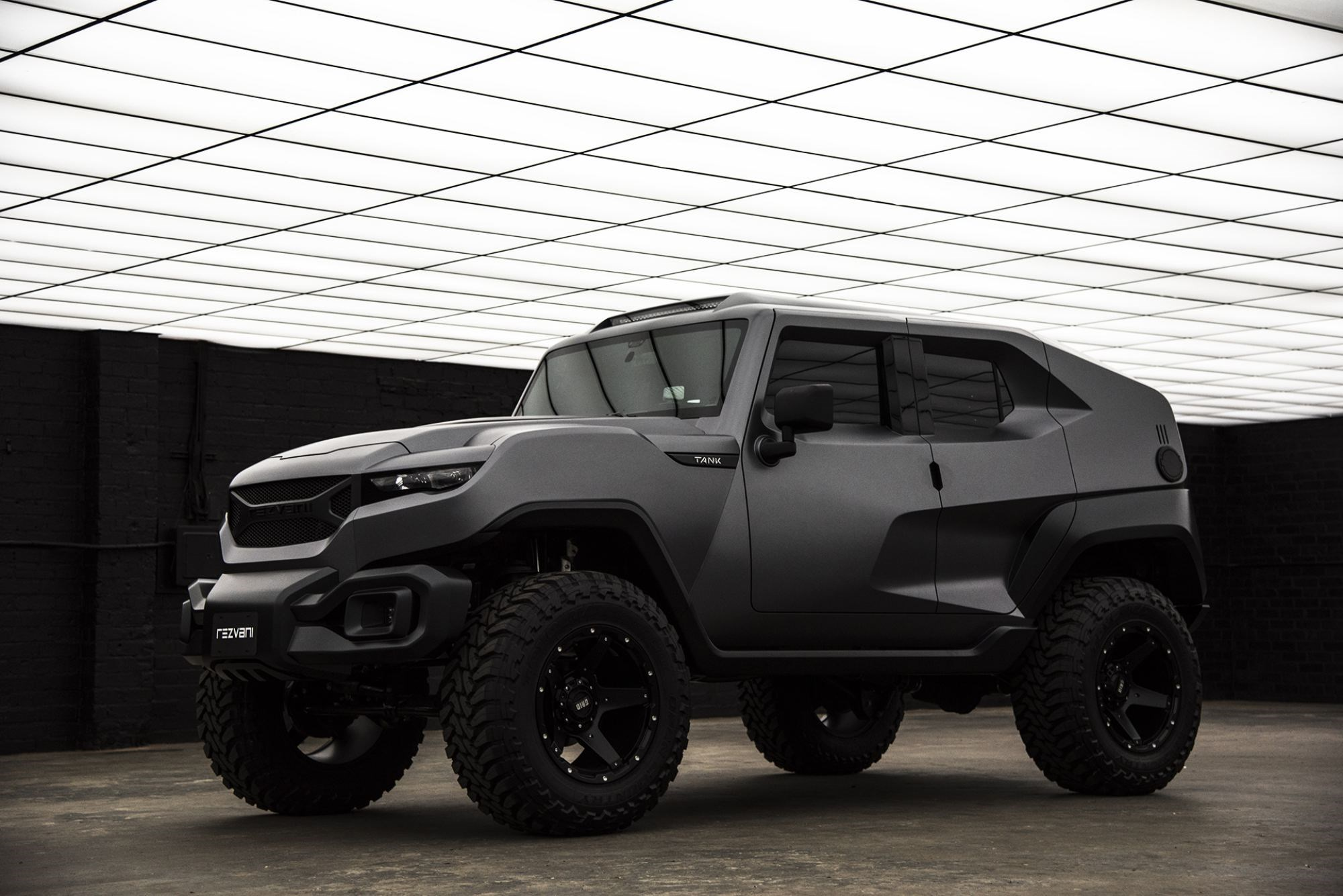 Meet The Apocalypse-Ready 373kW V8 Rezvani Tank Thumbnail