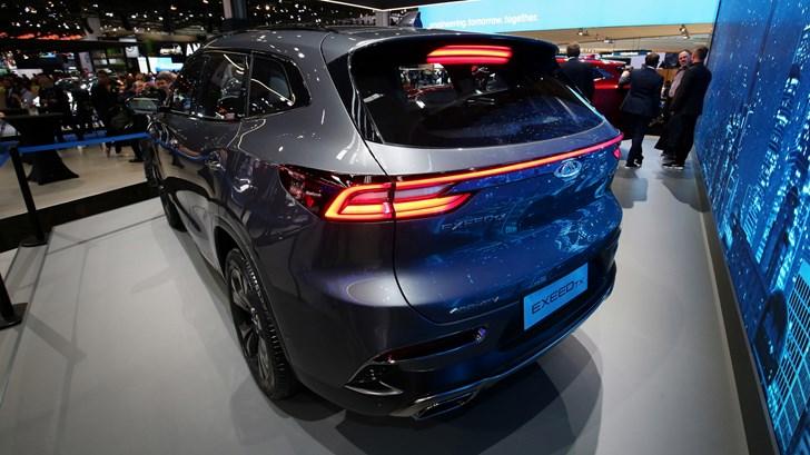 2017 Chery Exceed TX - Frankfurt Motor Show