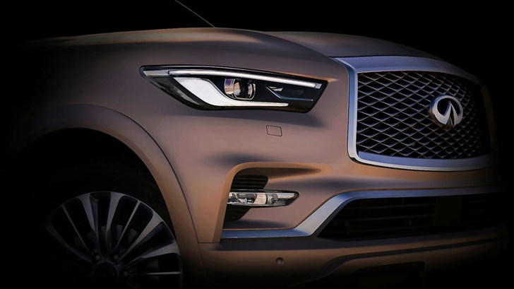2018 Infiniti QX80 To Debut In Dubai