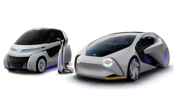 Toyota's Concept-i Trio Focus On Holistic Mobility, AI