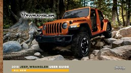 2018 Jeep Wrangler Owners Manual Leaked