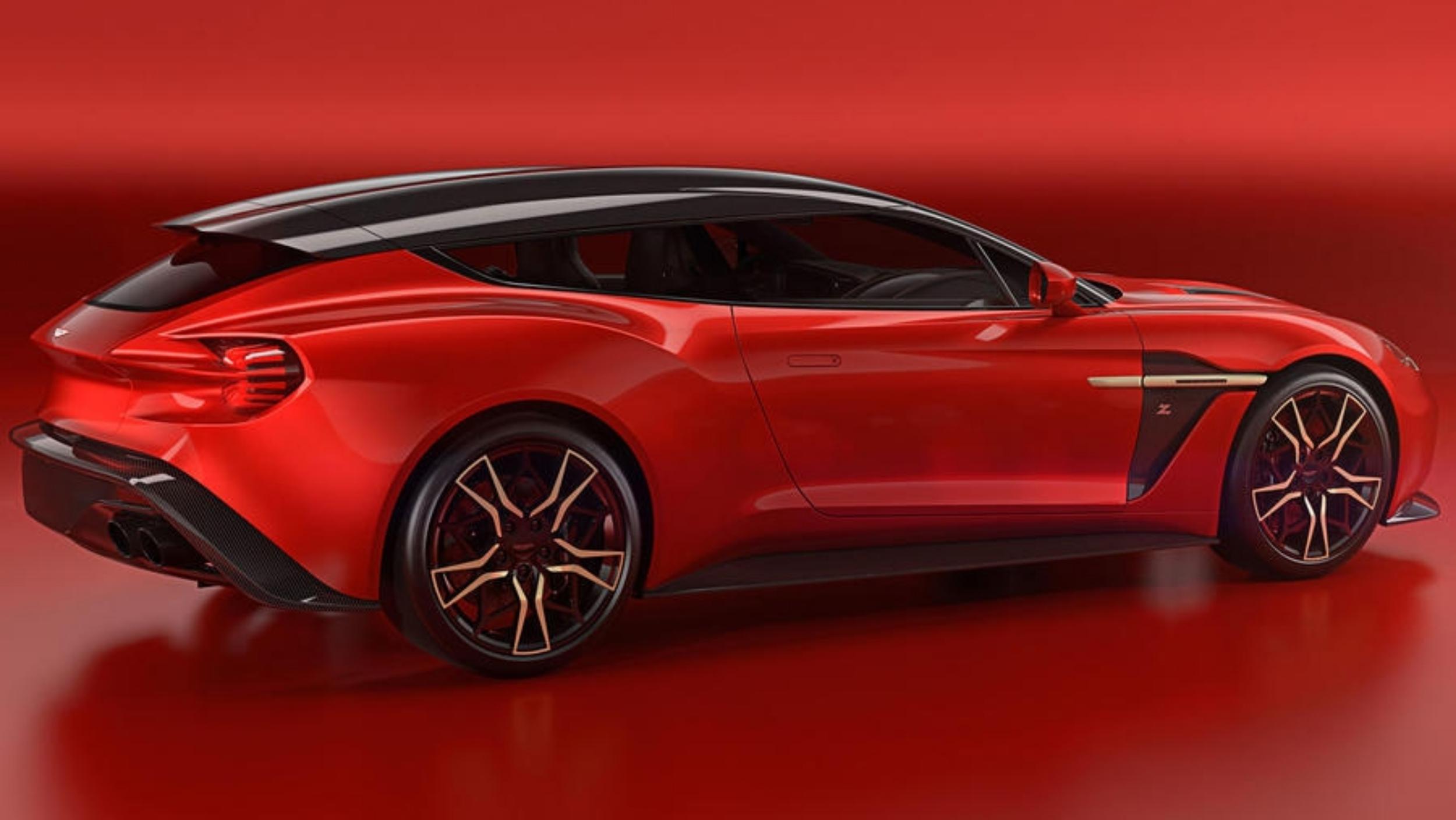 News Aston Martin Reveals Vanquish Zagato Shooting Brake