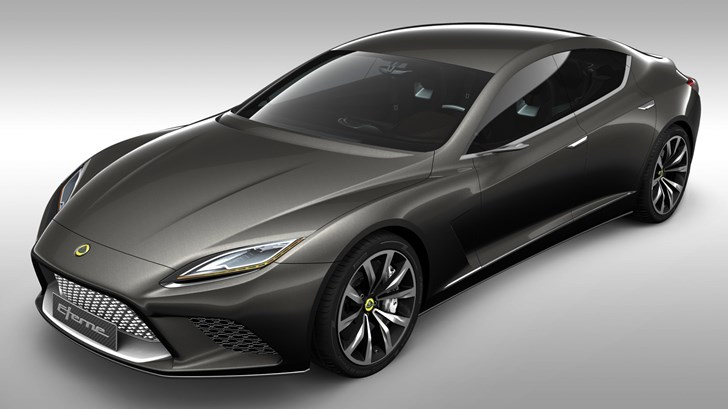 2010 Lotus Eterne Concept - Paris Motor Show