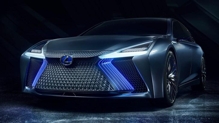 2017 Lexus LS+ Concept – Tokyo Motor Show