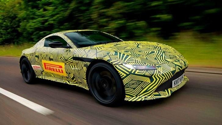 2018 Aston Martin Vantage Teasers
