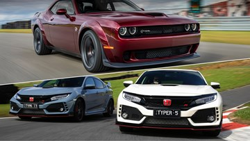 Honda Civic Type R, Dodge Hellcat Engines Could Be Yours