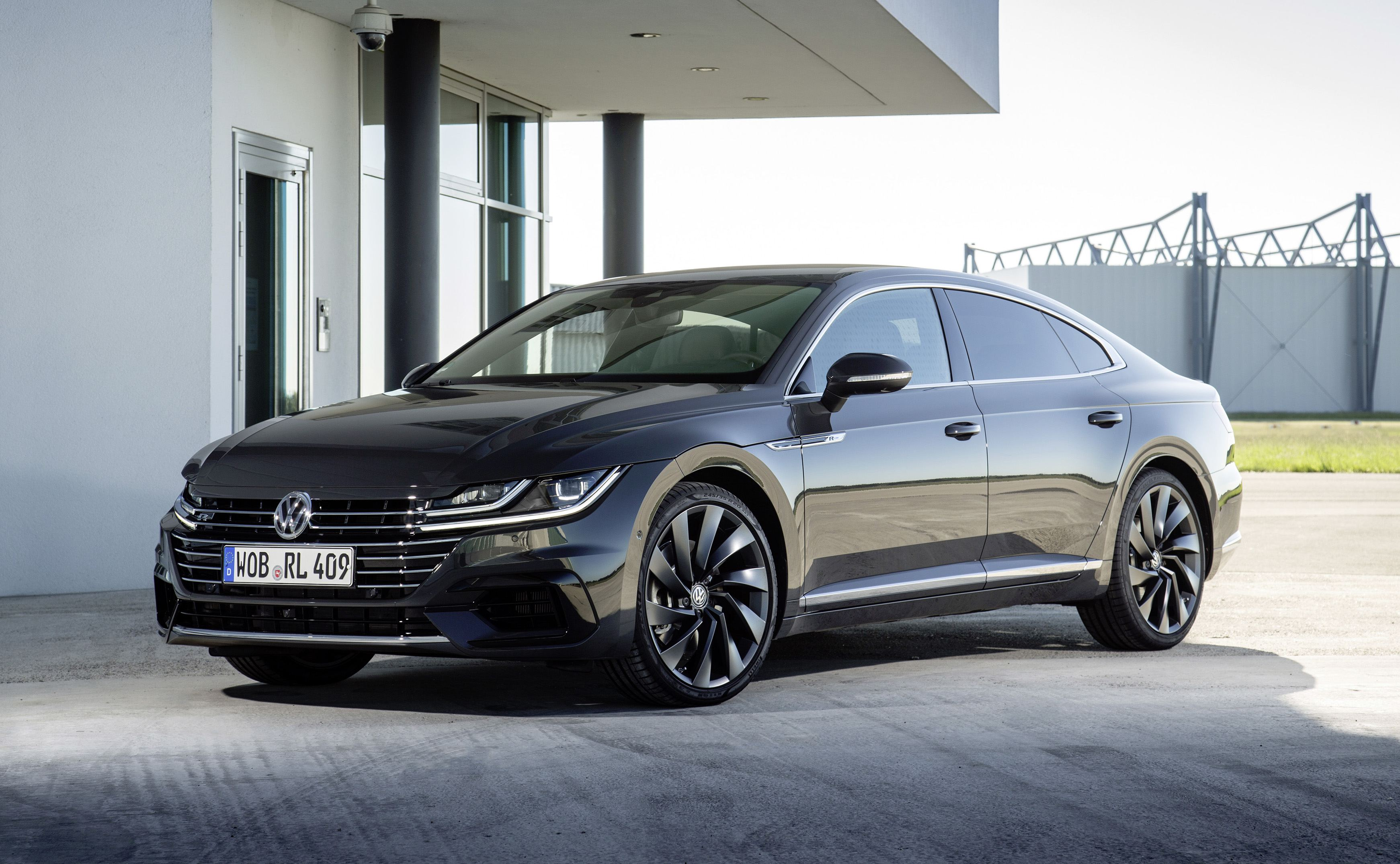 news volkswagen arteon may get turbo v6 with 300kw. Black Bedroom Furniture Sets. Home Design Ideas
