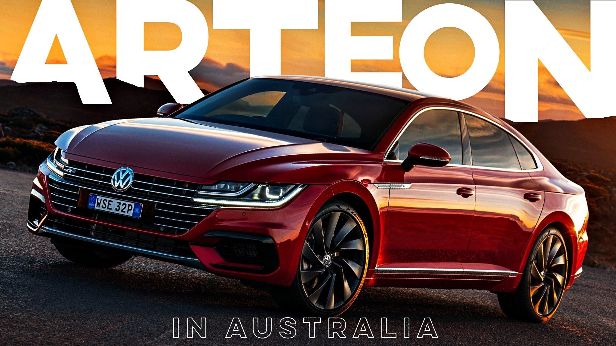 Volkswagen's Flagship Arteon Makes Aussie Landfall