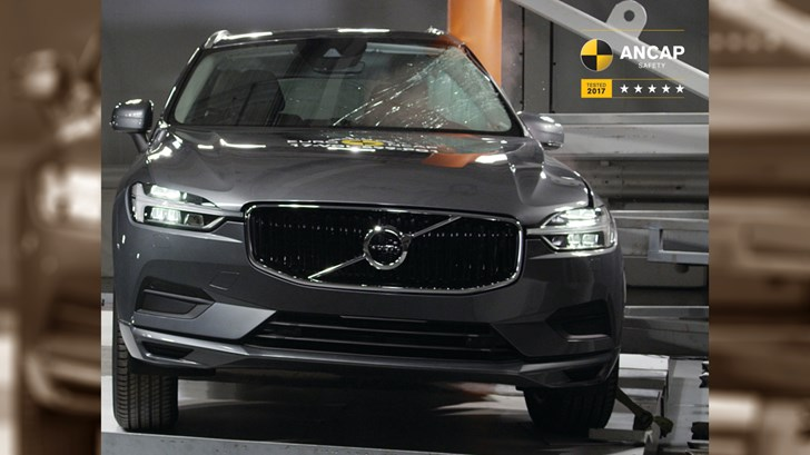 2018 Volvo XC60 Leads Pack In Safety, 5-Star ANCAP Rating