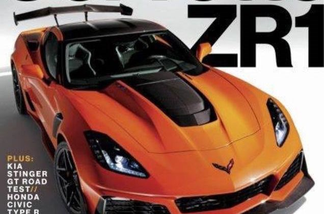 2018 Corvette ZR1 Leaked