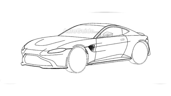 2018 Aston Martin Vantage - Patent Filing
