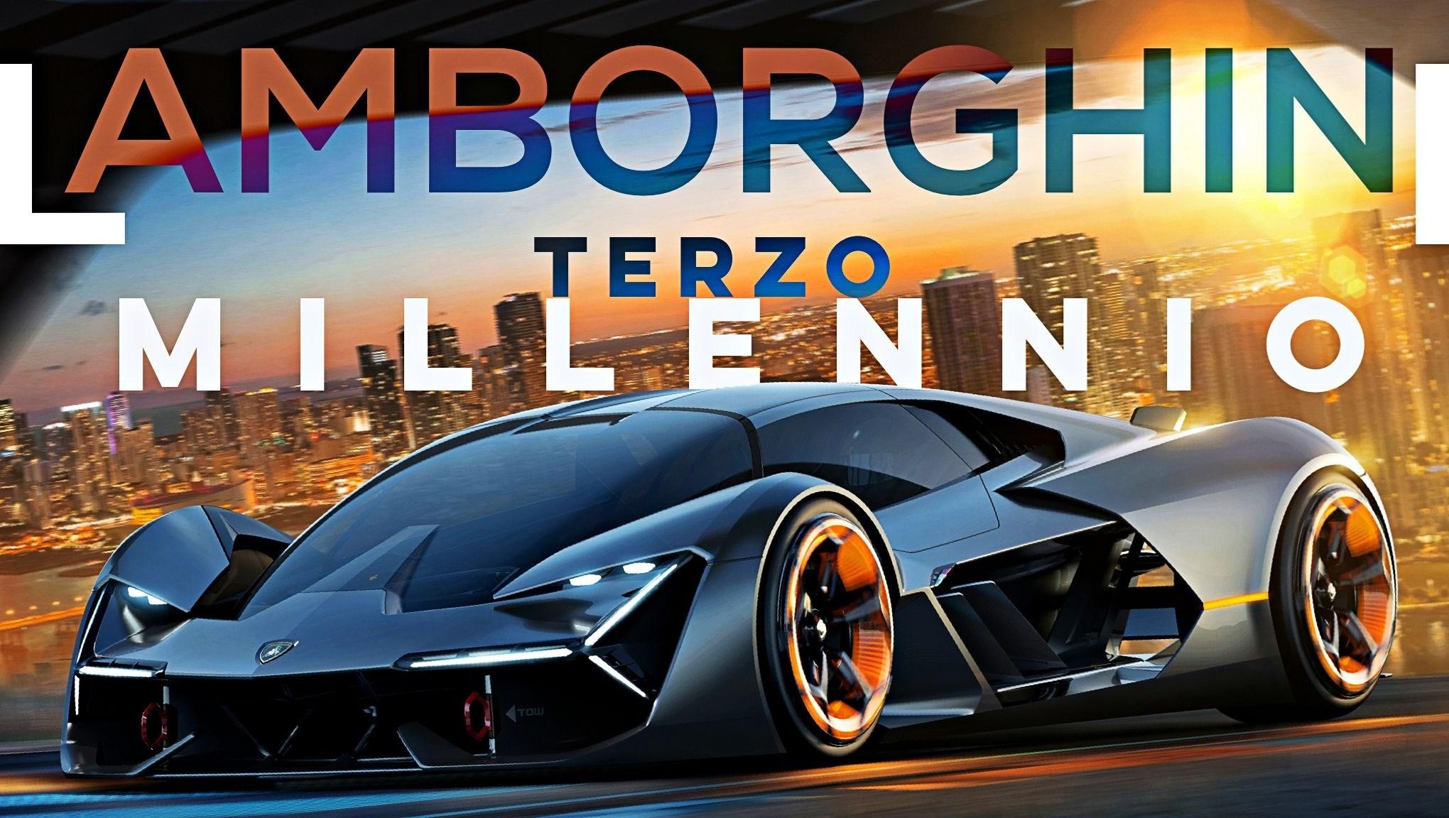 Lamborghini Unveils Terzo Millennio
