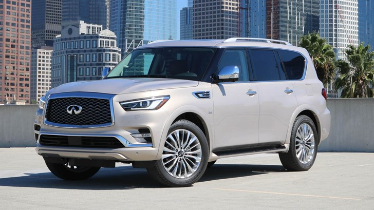 Facelifted Infiniti QX80 Revealed Prior To Dubai Premiere