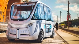Navya Driverless Shuttle Begins Service In Victoria