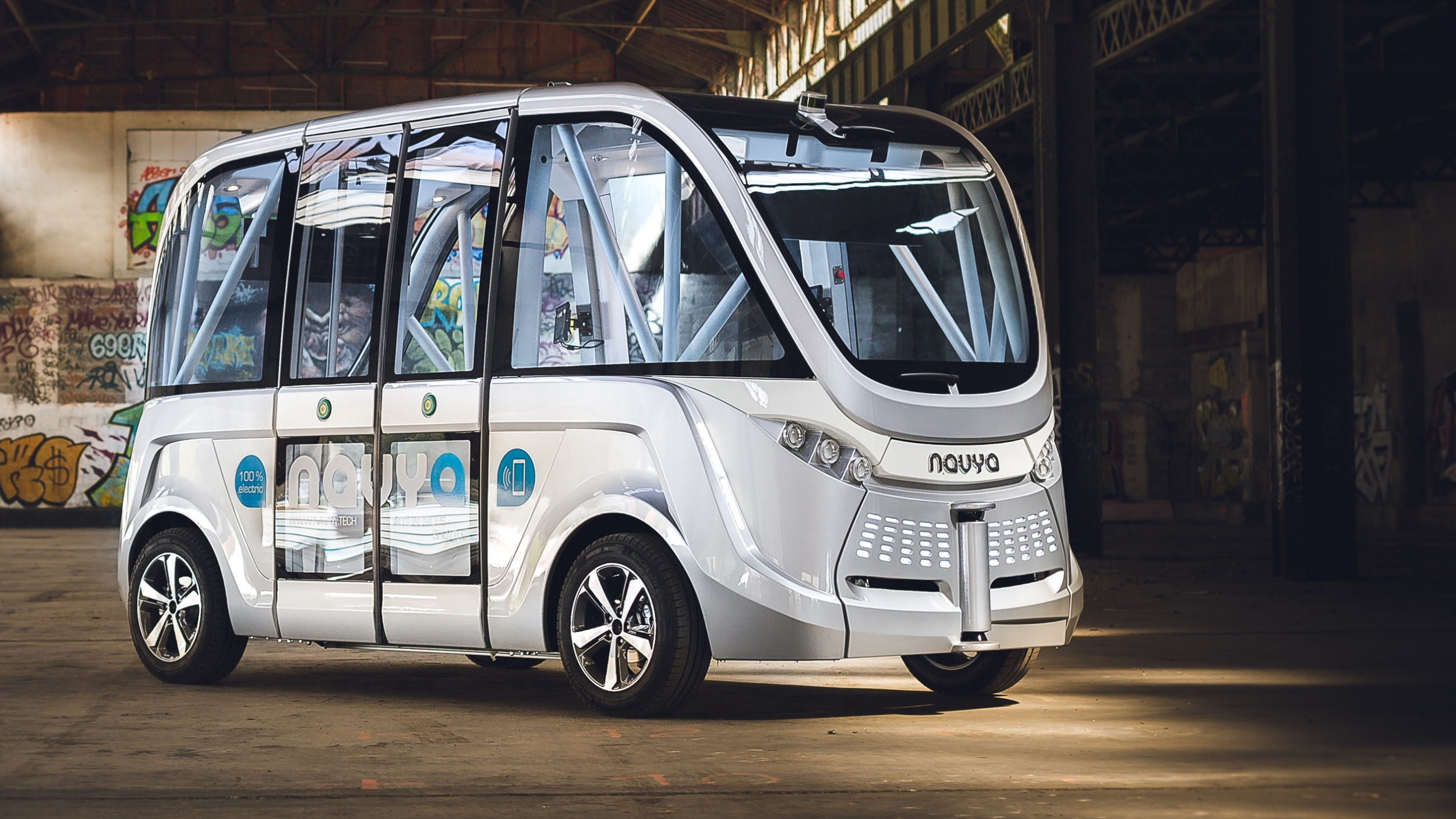 News Navya Driverless Shuttle Begins Service In Victoria