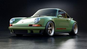 Singer, Williams Unveil Jaw-Dropping 373kW Porsche 911