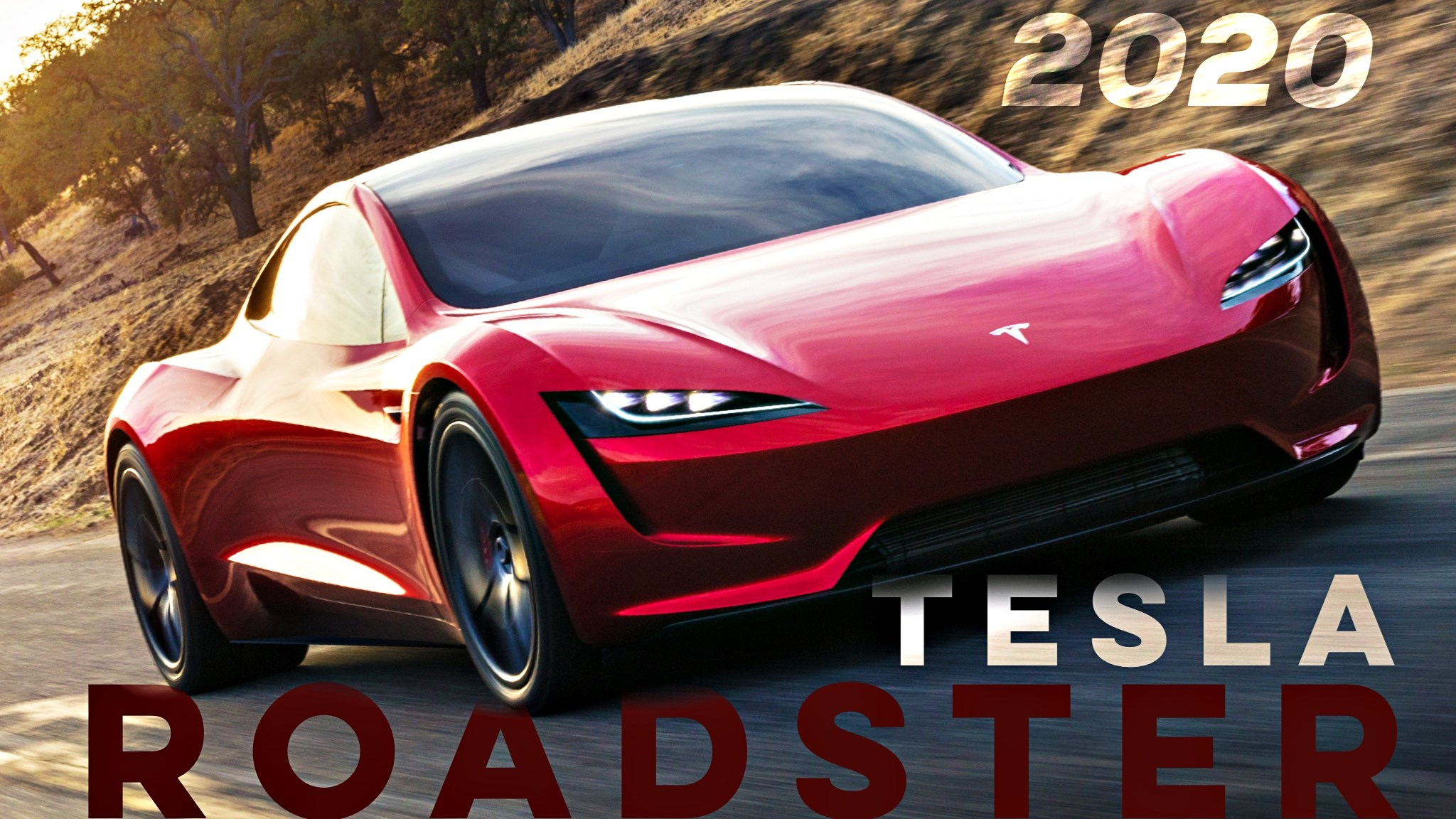 Tesla Unveils The New Roadster: 100km/h In 2-Seconds