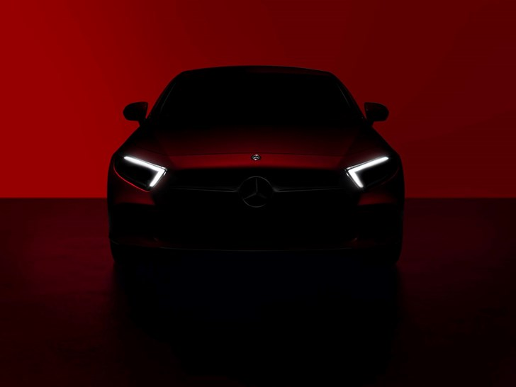 Mercedes-Benz Teases CLS Coupe For L.A Unveil