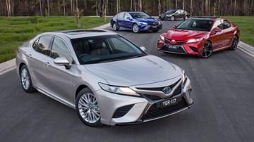 2018 Toyota Camry (XV70) - Australia
