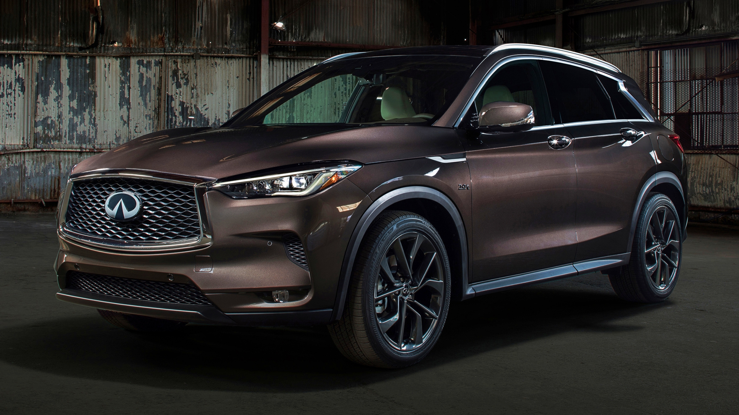 news 2018 infiniti qx50 unveiled first ever variable. Black Bedroom Furniture Sets. Home Design Ideas