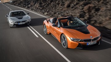 2018 BMW i8 Coupe, i8 Roadster