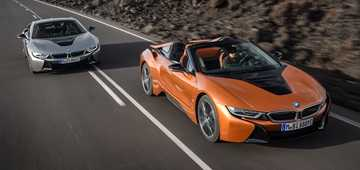 2018 BMW I8 Coupe Roadster