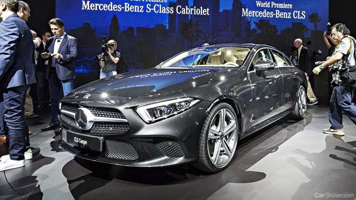 News MercedesBenz CLS Coupe Debuts At LA Motor Show - Mercedes car show 2018