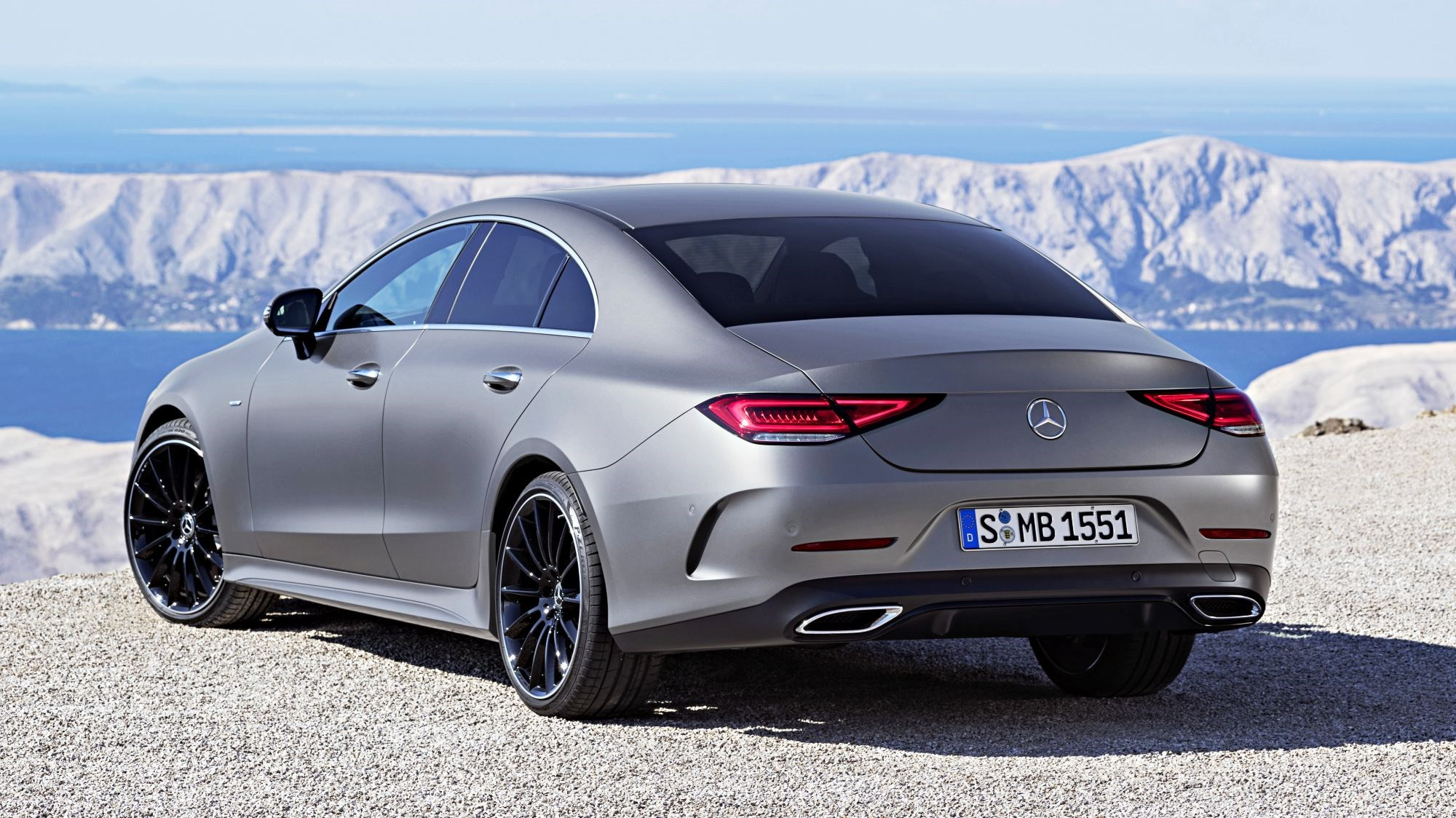 2019 Mercedes-Benz CLS Coupe Debuts At LA Motor Show Thumbnail
