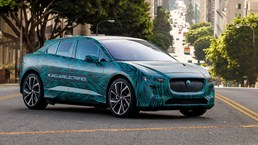 Jaguar I-Pace Drives The California Coast Ahead Of Reveal