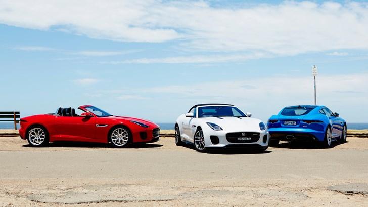 Jaguar Introduces '18 F-Type Turbo-4 In Oz, $107k