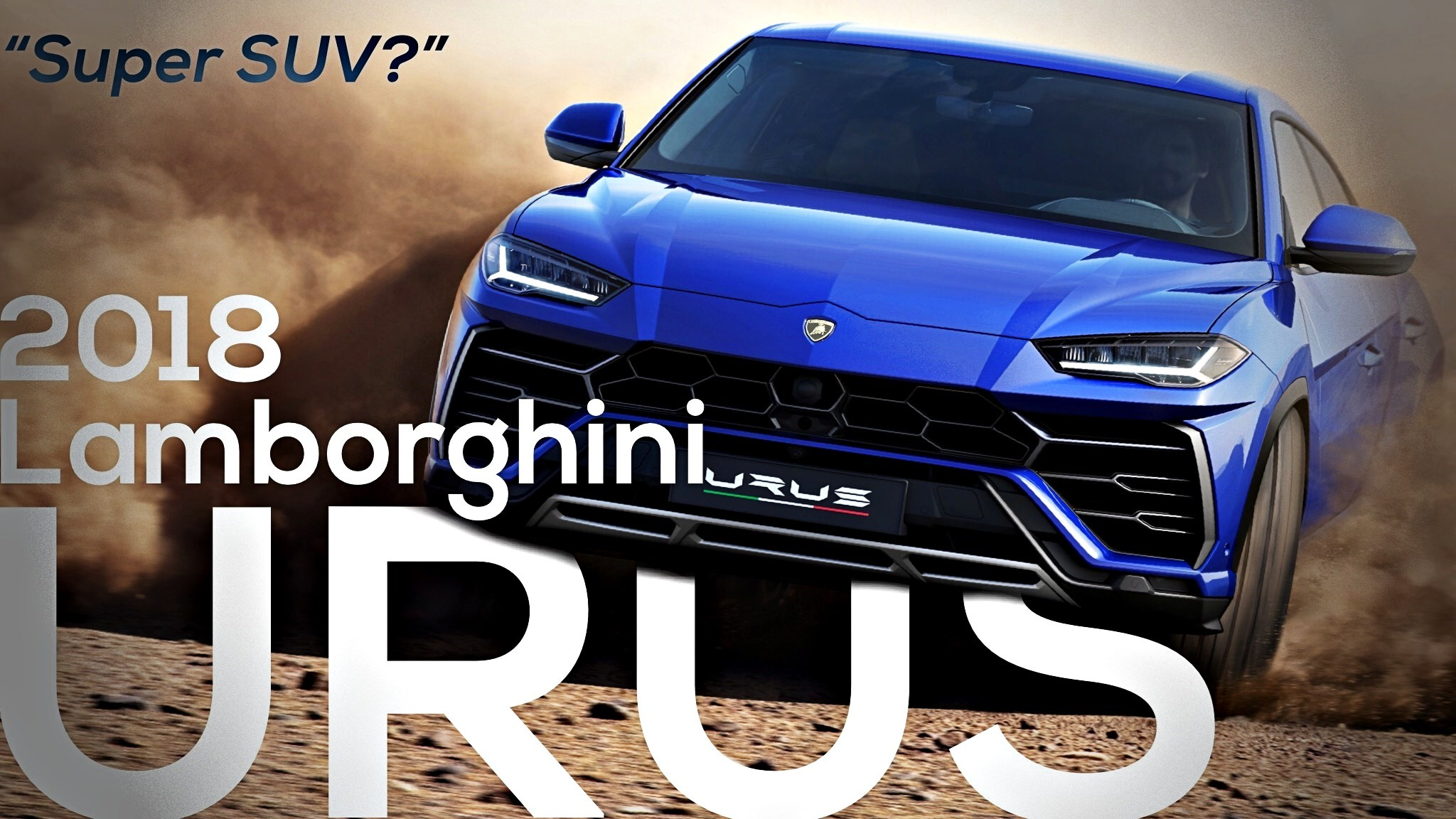 The SUV-Fication Is Complete, Lamborghini Urus Unveiled