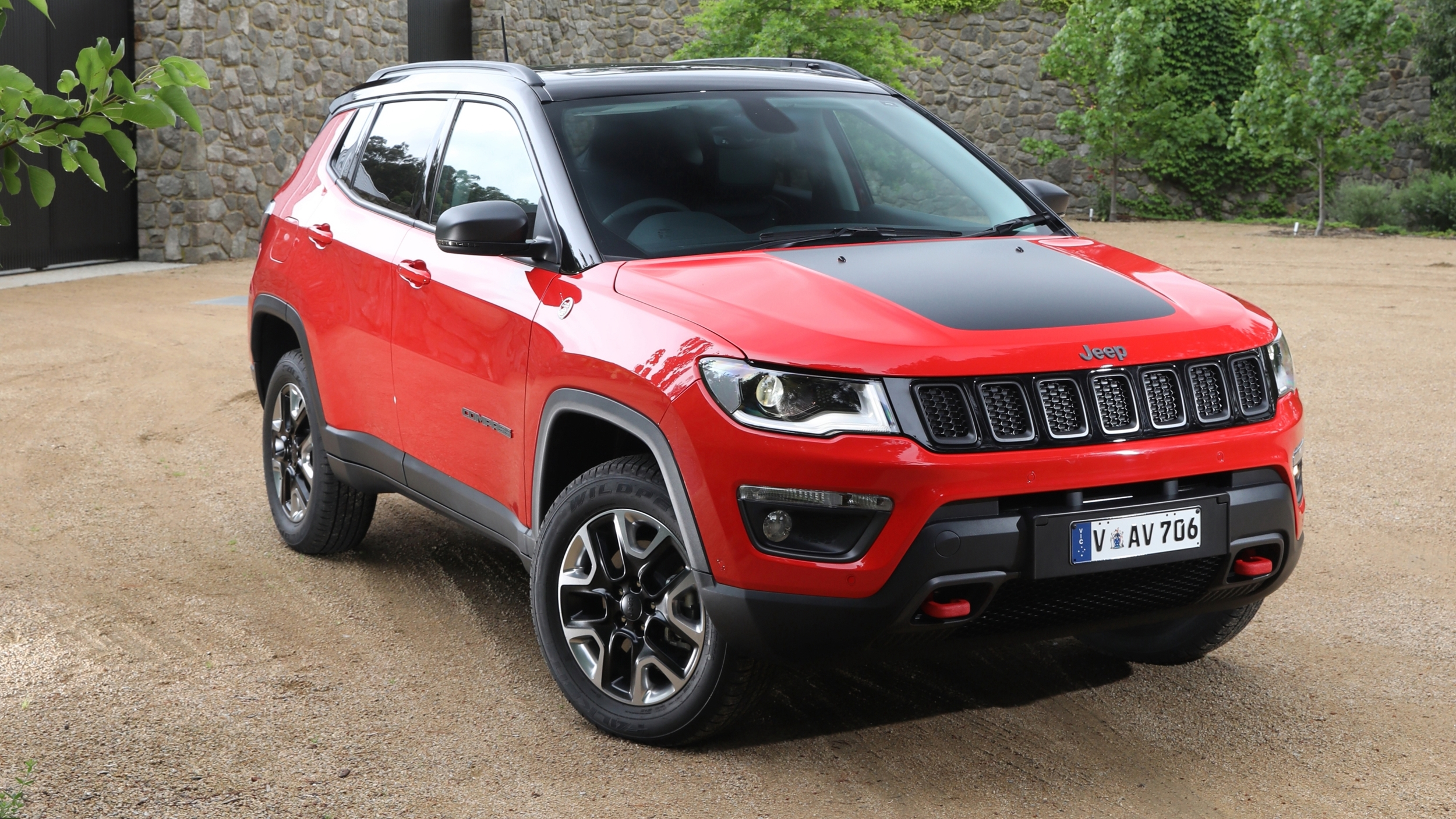 news 2018 jeep compass detailed in full for oz. Black Bedroom Furniture Sets. Home Design Ideas