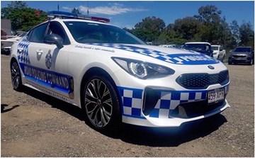 Kia Stinger Joins Queensland Police