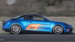 Alpine Mulls More Hardcore Sibling To A110