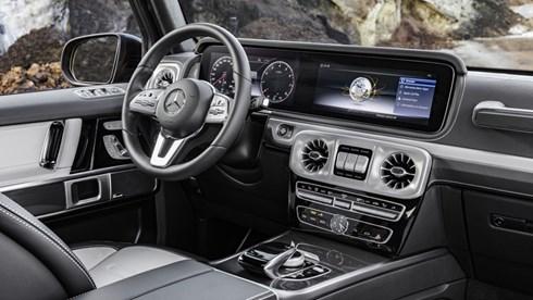 Mercedes-Benz Shows Off G-Class Cabin