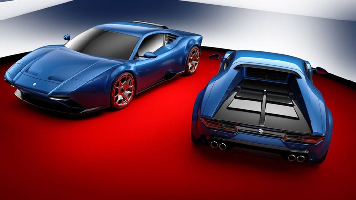Project Panther By Ares Design Channels De Tomaso's 70s Vibe