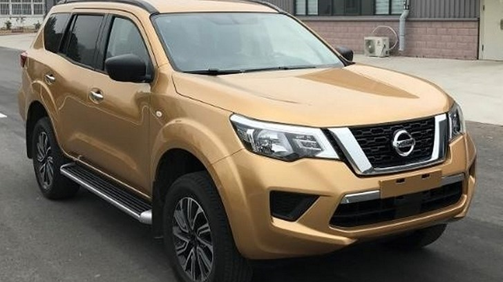 Nissan Terra Breaks Cover In China