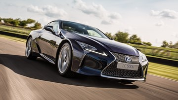 Lexus Could Unveil LCF With New 447kW Bi-Turbo V8