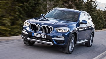 2018 BMW X3 sDrive20i Arriving March, $65,900