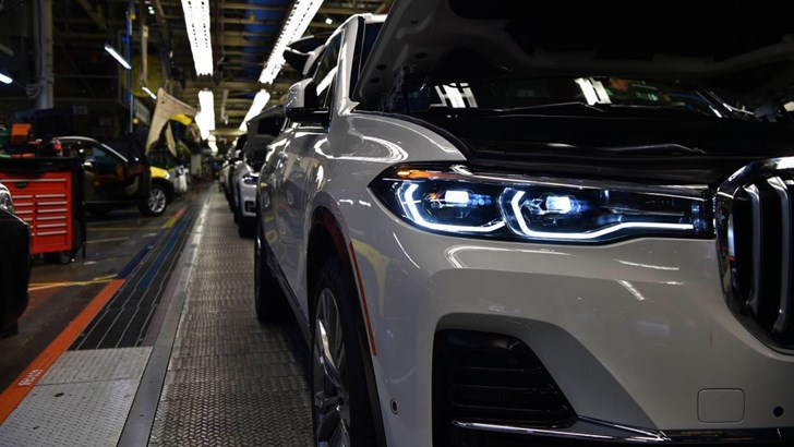 2018 BMW X7 Prototypes